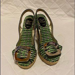 Rpger Vivier Wedge Sandals Size 36